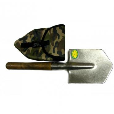 Автомобильная универсальная титановая лопата с чехлом