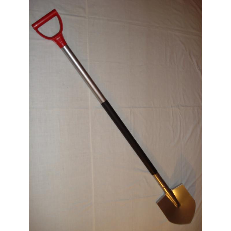 Лопата титановая большая штыковая усиленная