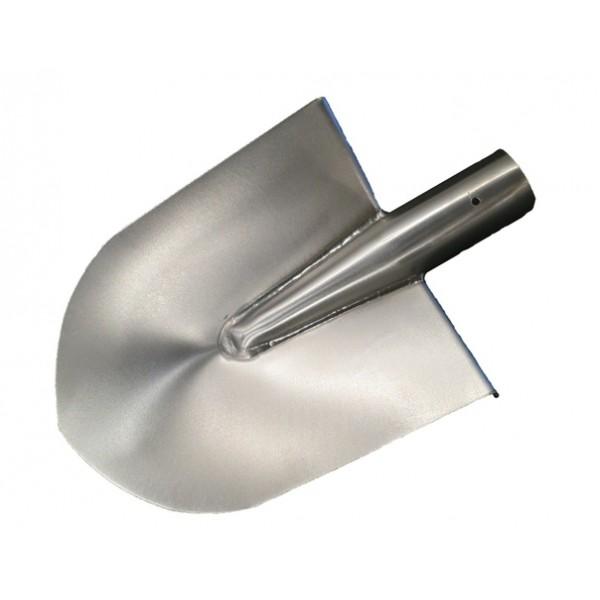 Лопата сварная  большая усиленная толщина металла 2 мм, размер 260х190 вес 469 грамм