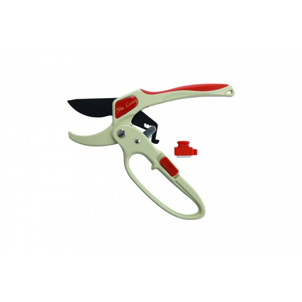 Секатор контактный с храповым механизмом Mr. Logo (200 мм)
