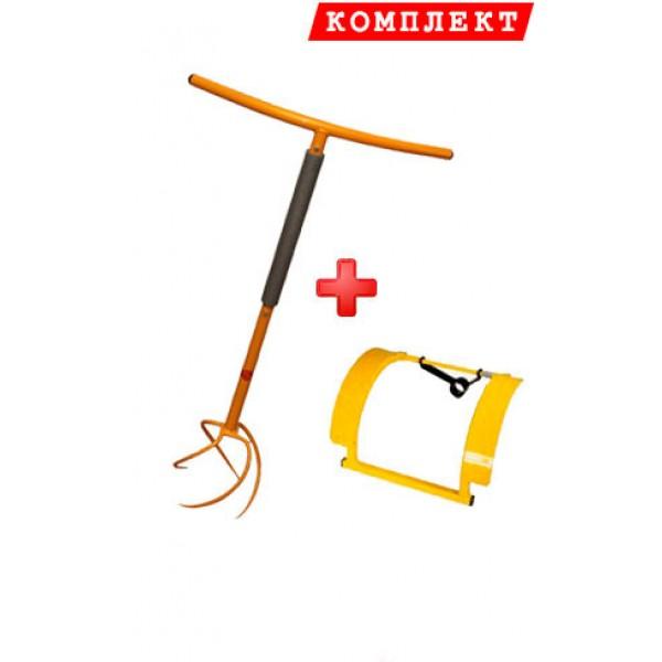 Комплект культиватор Торнадика + Рычаг педаль Торнадика (Торнадо)